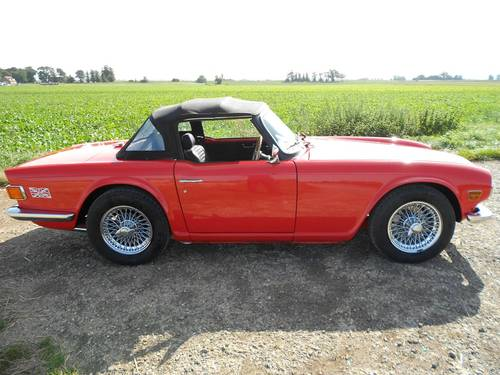 1972 TR6 FOR SALE SOLD (picture 4 of 6)