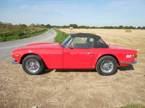 1972 TR6 FOR SALE SOLD (picture 5 of 6)