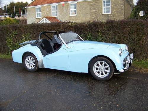 1959 Triumph TR3A Wanted  For Sale (picture 1 of 2)