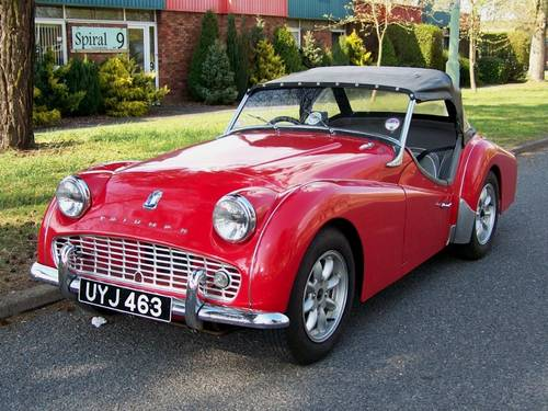 1959 Triumph TR3A Wanted  For Sale (picture 2 of 2)