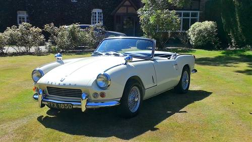 1966 FULLY RESTORED TRIUMPH SPITFIRE MK2 WITH OVERDRIVE For Sale (picture 1 of 5)