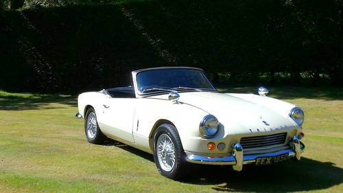 1966 FULLY RESTORED TRIUMPH SPITFIRE MK2 WITH OVERDRIVE For Sale (picture 3 of 5)