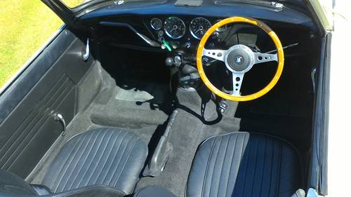 1966 FULLY RESTORED TRIUMPH SPITFIRE MK2 WITH OVERDRIVE For Sale (picture 4 of 5)