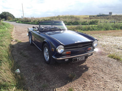 1974 TR6 ORIGINAL FUEL INJECTED CAR WITH OVERDRIVE SOLD (picture 1 of 6)