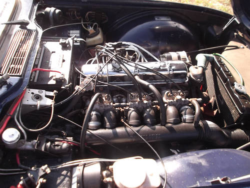 1974 TR6 ORIGINAL FUEL INJECTED CAR WITH OVERDRIVE SOLD (picture 3 of 6)