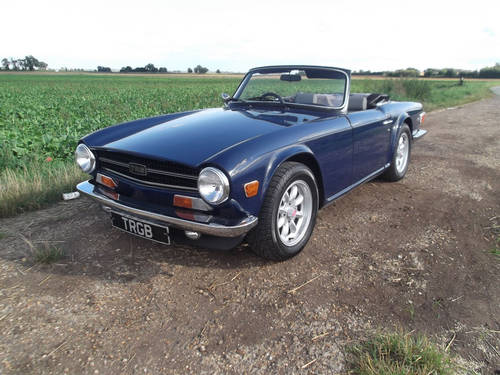 1974 TR6 ORIGINAL FUEL INJECTED CAR WITH OVERDRIVE SOLD (picture 6 of 6)