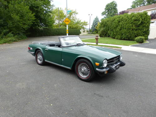 1975 Triumph TR6 With Overdrive Nice Driver - SOLD (picture 1 of 6)
