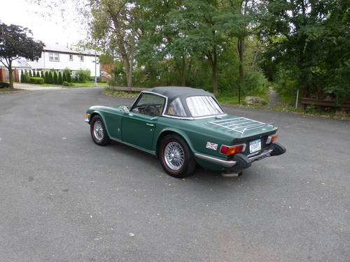 1975 Triumph TR6 With Overdrive Nice Driver - SOLD (picture 4 of 6)