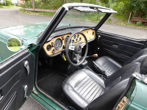 1975 Triumph TR6 With Overdrive Nice Driver - SOLD (picture 5 of 6)