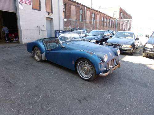 1956 Triumph TR3 Roadster Running Engine to Restore - SOLD (picture 1 of 6)