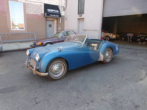 1956 Triumph TR3 Roadster Running Engine to Restore - SOLD (picture 3 of 6)