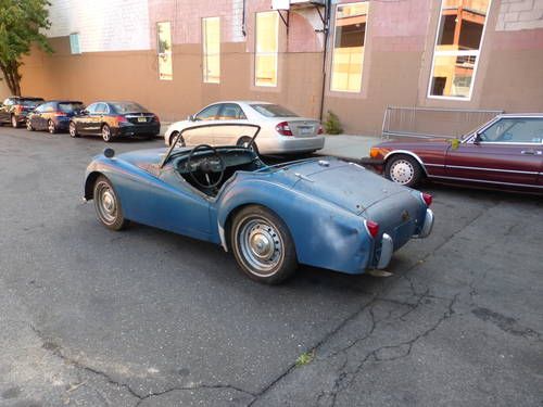 1956 Triumph TR3 Roadster Running Engine to Restore - SOLD (picture 4 of 6)