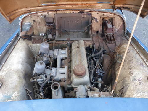 1956 Triumph TR3 Roadster Running Engine to Restore - SOLD (picture 6 of 6)