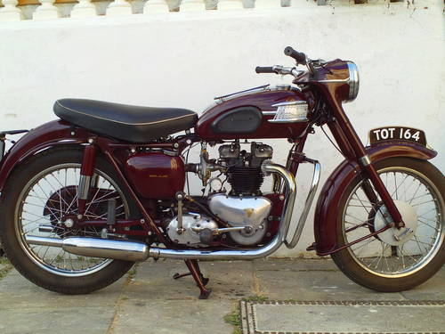 1958 TRIUMPH SPEEDTWIN 5T SOLD (picture 1 of 6)