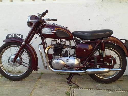 1958 TRIUMPH SPEEDTWIN 5T SOLD (picture 3 of 6)