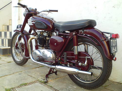 1958 TRIUMPH SPEEDTWIN 5T SOLD (picture 4 of 6)