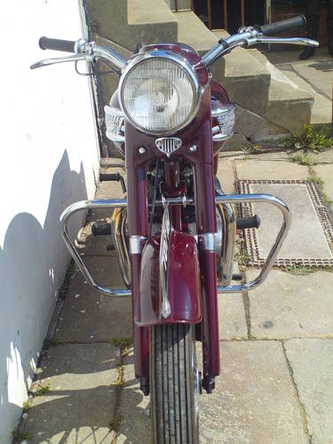 1958 TRIUMPH SPEEDTWIN 5T SOLD (picture 6 of 6)