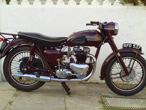 1955 TRIUMPH SPEEDTWIN 5T SOLD (picture 1 of 6)