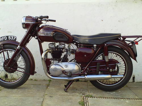 1955 TRIUMPH SPEEDTWIN 5T SOLD (picture 3 of 6)