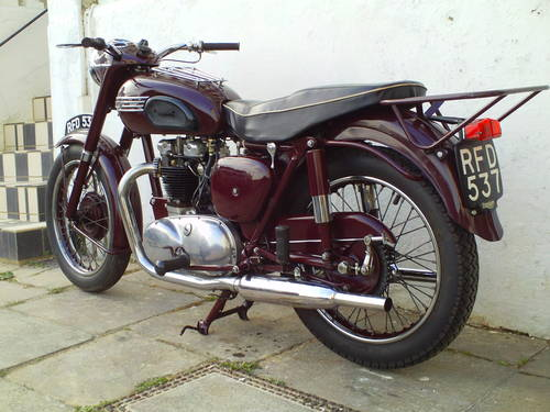 1955 TRIUMPH SPEEDTWIN 5T SOLD (picture 4 of 6)