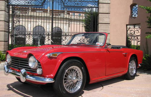 1965 Triumph  TR4 A  IRS Roadster SOLD (picture 1 of 6)