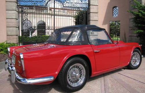 1965 Triumph  TR4 A  IRS Roadster SOLD (picture 2 of 6)