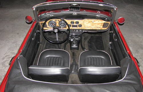 1965 Triumph  TR4 A  IRS Roadster SOLD (picture 5 of 6)