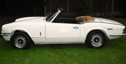 1972 SPITFIRE MK4,EXTENSIVE £16800 BODY OFF RESTORATION For Sale (picture 2 of 6)