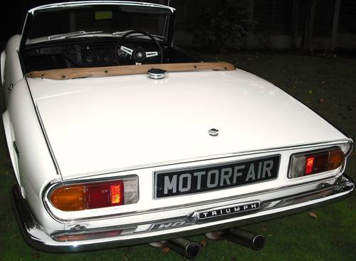 1972 SPITFIRE MK4,EXTENSIVE £16800 BODY OFF RESTORATION For Sale (picture 3 of 6)