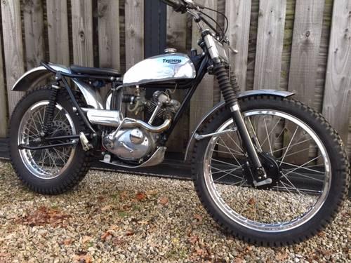 1960 Triumph Tiger Cub Trials Fantastic Bike Road Registered For
