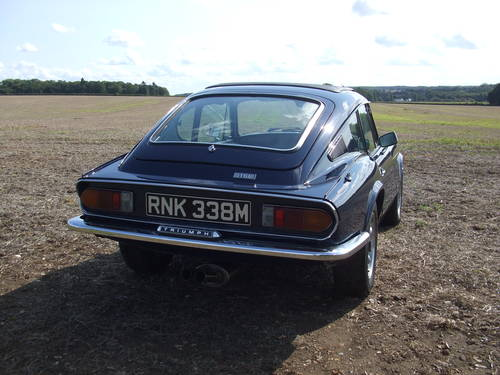 1973 GT6 MK3 NON ROTO  OVERDRIVE LAST SPEC SUPERB SOLD (picture 4 of 6)