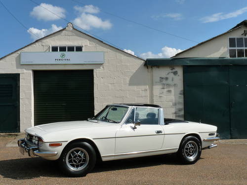 1975 Triumph Stag, manual overdrive gearbox SOLD (picture 1 of 6)