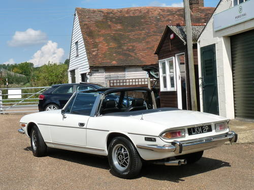 1975 Triumph Stag, manual overdrive gearbox SOLD (picture 5 of 6)