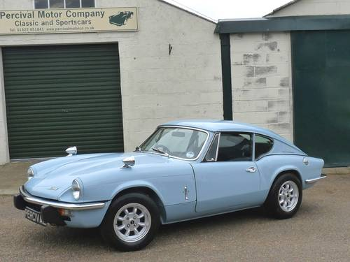 1973 Triumph GT6, restored some years ago SOLD (picture 1 of 6)