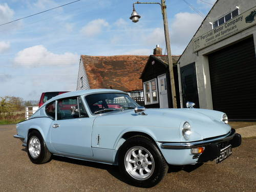 1973 Triumph GT6, restored some years ago SOLD (picture 3 of 6)