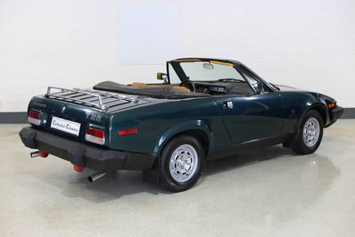 1979 Genuine Triumph TR8 rare fuel injection model great history SOLD (picture 1 of 6)