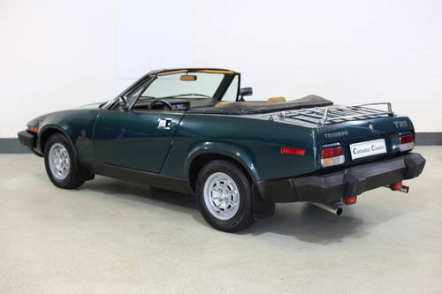 1979 Genuine Triumph TR8 rare fuel injection model great history SOLD (picture 2 of 6)