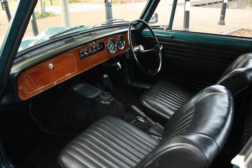 1971 Triumph Herald 13/60 Factory Convertible, Valencia Blue SOLD (picture 4 of 6)