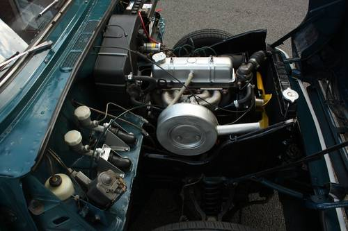 1971 Triumph Herald 13/60 Factory Convertible, Valencia Blue SOLD (picture 5 of 6)
