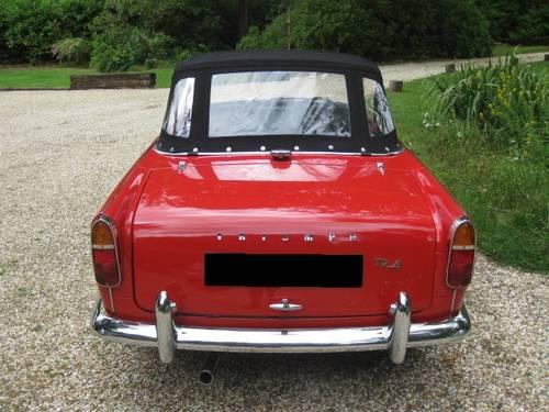 1963 Triumph TR4 SOLD (picture 4 of 6)
