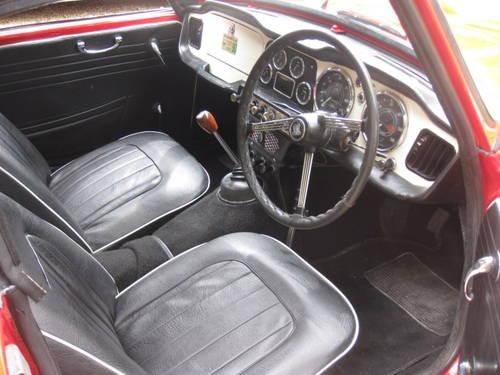 1963 Triumph TR4 SOLD (picture 5 of 6)