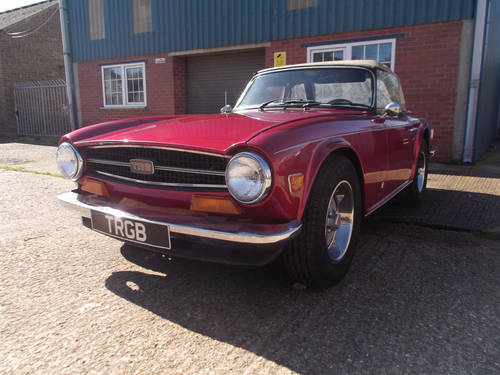 1973 PROJECT TR6 EX USA FOR SALE SOLD (picture 2 of 6)