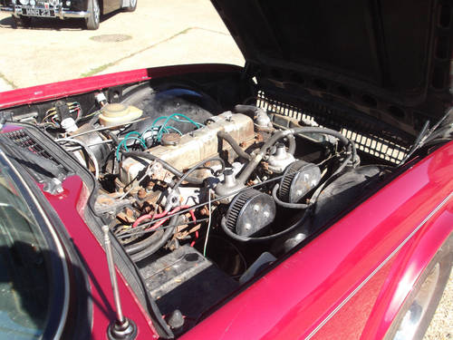1973 PROJECT TR6 EX USA FOR SALE SOLD (picture 4 of 6)