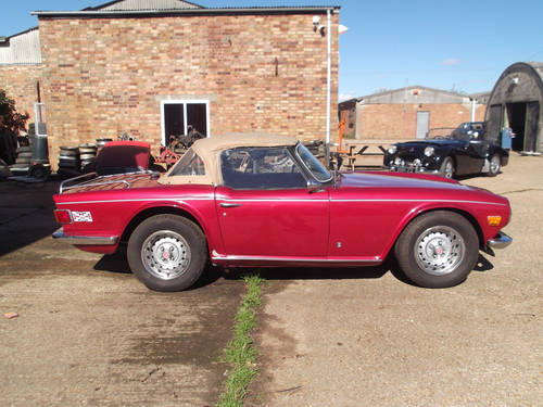 1973 PROJECT TR6 EX USA FOR SALE SOLD (picture 6 of 6)