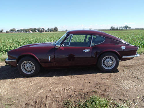 1973 TRIUMPH GT6 MKIII FOR SALE SOLD (picture 2 of 6)