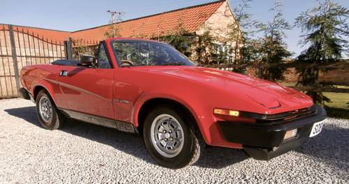 1981 Triumph TR7 Convertible   ( 1 owner low mileage ) SOLD (picture 1 of 6)