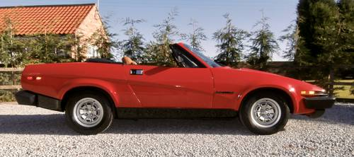 1981 Triumph TR7 Convertible   ( 1 owner low mileage ) SOLD (picture 4 of 6)