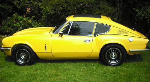1973 GT6 MK 3,PHOTOGRAPHIC RESTORATION,SUNROOF,LOW MILEAGE, For Sale (picture 2 of 6)