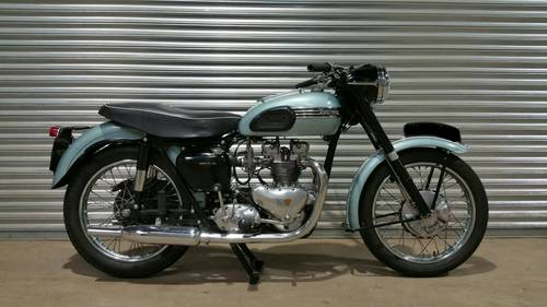 1954 (RESERVED) TRIUMPH T100 MATCHING NUMBERS ORIGINAL REG  SOLD (picture 1 of 2)