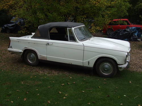 1971 HERALD 13/60 CONVERTIBLE ONLY 62K HISTORY NEEDING TLC SOLD (picture 1 of 6)